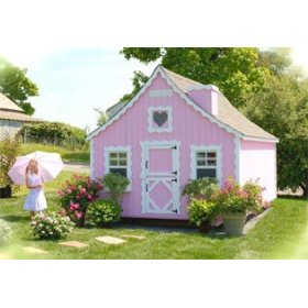 DIY Playhouse Kits | Childrens Playhouse Kits | Cottage Plans