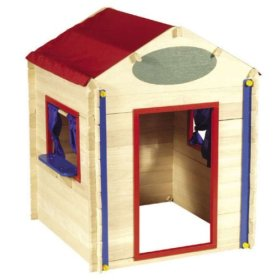 Build It Myself Wooden Playhouse pic