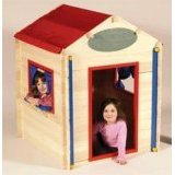 Build It Myself Wooden Playhouse