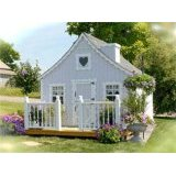 wooden playhouse kit pic