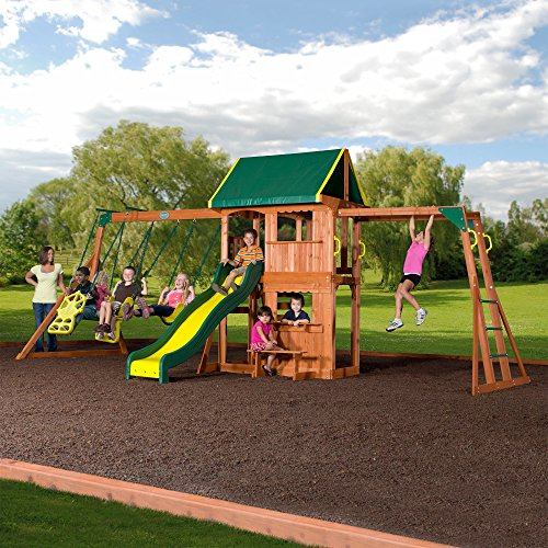 Swing Set And Play Centers